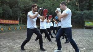 英国墨尔文国际中学武术体验